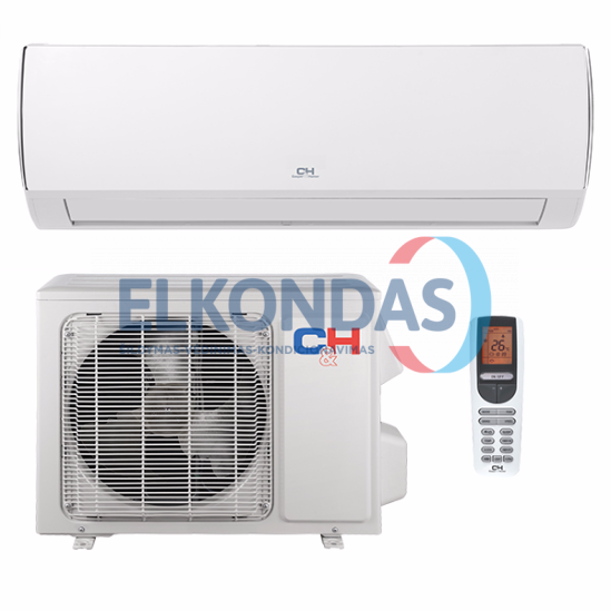 Cooper&Hunter VERITAS Inverter CH-S09FTXQ-NG efektyvus šildymas iki -15°C