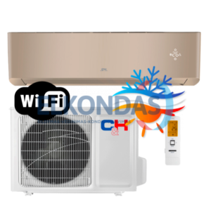 C&H SUPREME GOLD Inverter CH-S24FTXAM2S-GD efektyvus šildymas iki -30°C