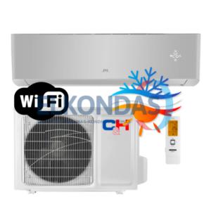 C&H SUPREME SILVER Inverter CH-S24FTXAM2S-SC efektyvus šildymas iki -30°C