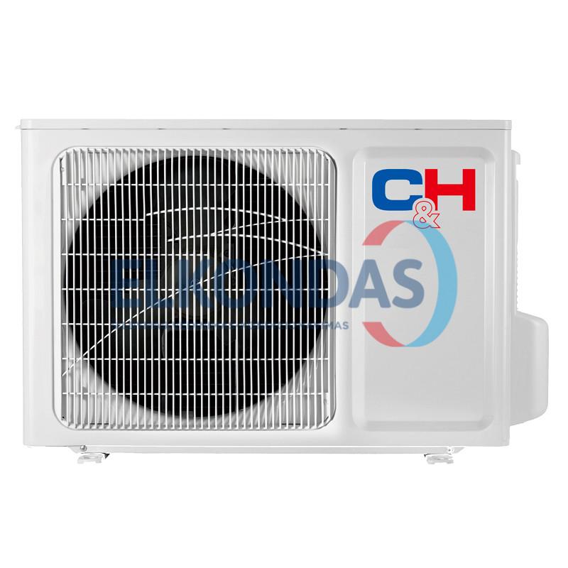 C&H SUPREME WHITE Inverter CH-S09FTXAM2S-WP efektyvus šildymas iki -30°C
