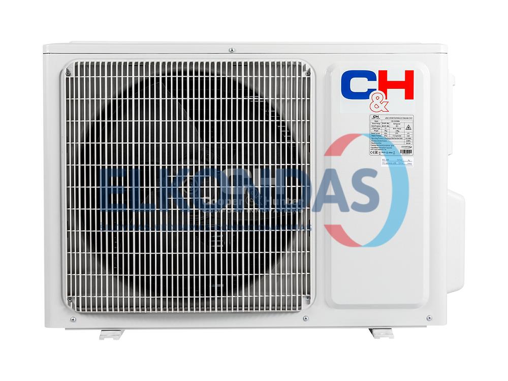 Cooper&Hunter ICY3 inverter CH-S09FTXTB2S-NG efektyvus šildymas iki -30°C