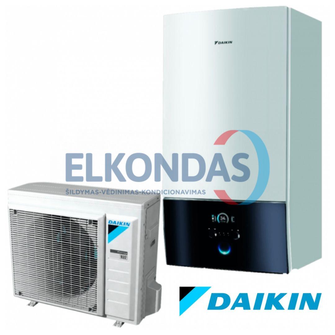 Daikin Altherma 3 šilumos siurblys oras-vanduo ERGA04DAV3/EHBH04D6V be vandens talpos