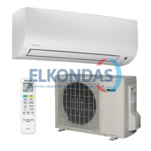 Oro kondicionierius/šilumos siurblys (oras-oras) Daikin Comfora Split Inverter FTXTP35K/RXTP35N9 (-25°C)