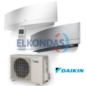 Daikin EMURA Split Inverter oro kondicionierius/ šilumos siurblys (oras-oras) FTXJ50MW-MS/RXJ50N (-15°C)