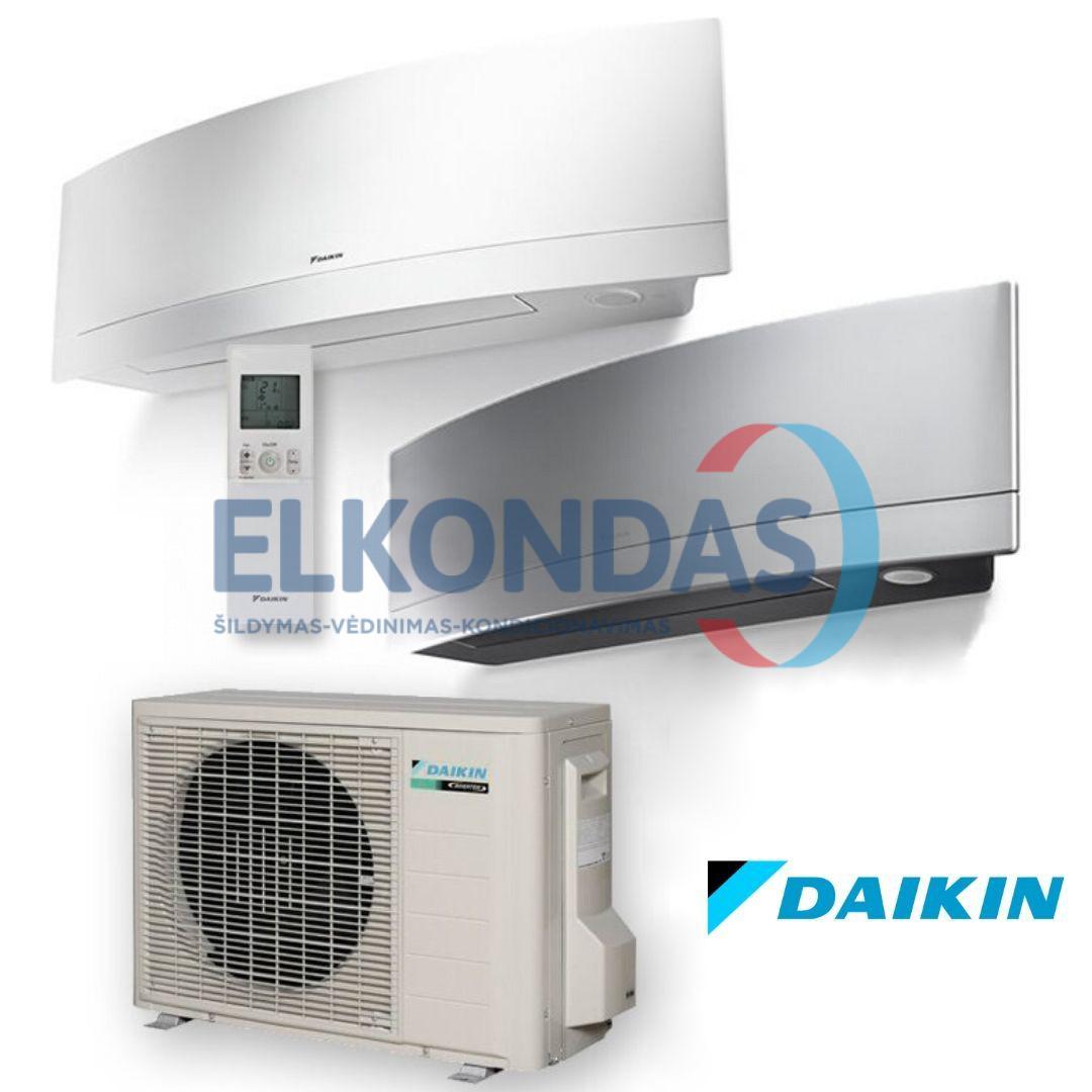 Daikin EMURA Split Inverter oro kondicionierius/ šilumos siurblys (oras-oras) FTXJ20MW-MS/RXJ20M (-15°C)