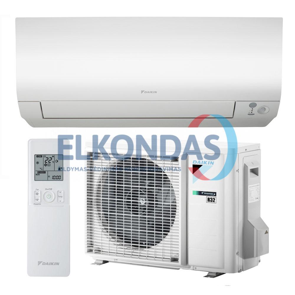 Daikin Perfera oro kondicionierius/šilumos siurblys oras-oras FTXTM30M/RXTM30N (-25°C)