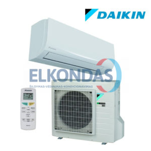 Daikin SENSIRA Split Inverter oro kondicionierius/ šilumos siurblys (oras-oras) FTXF71A/RXF71A (-15°C)