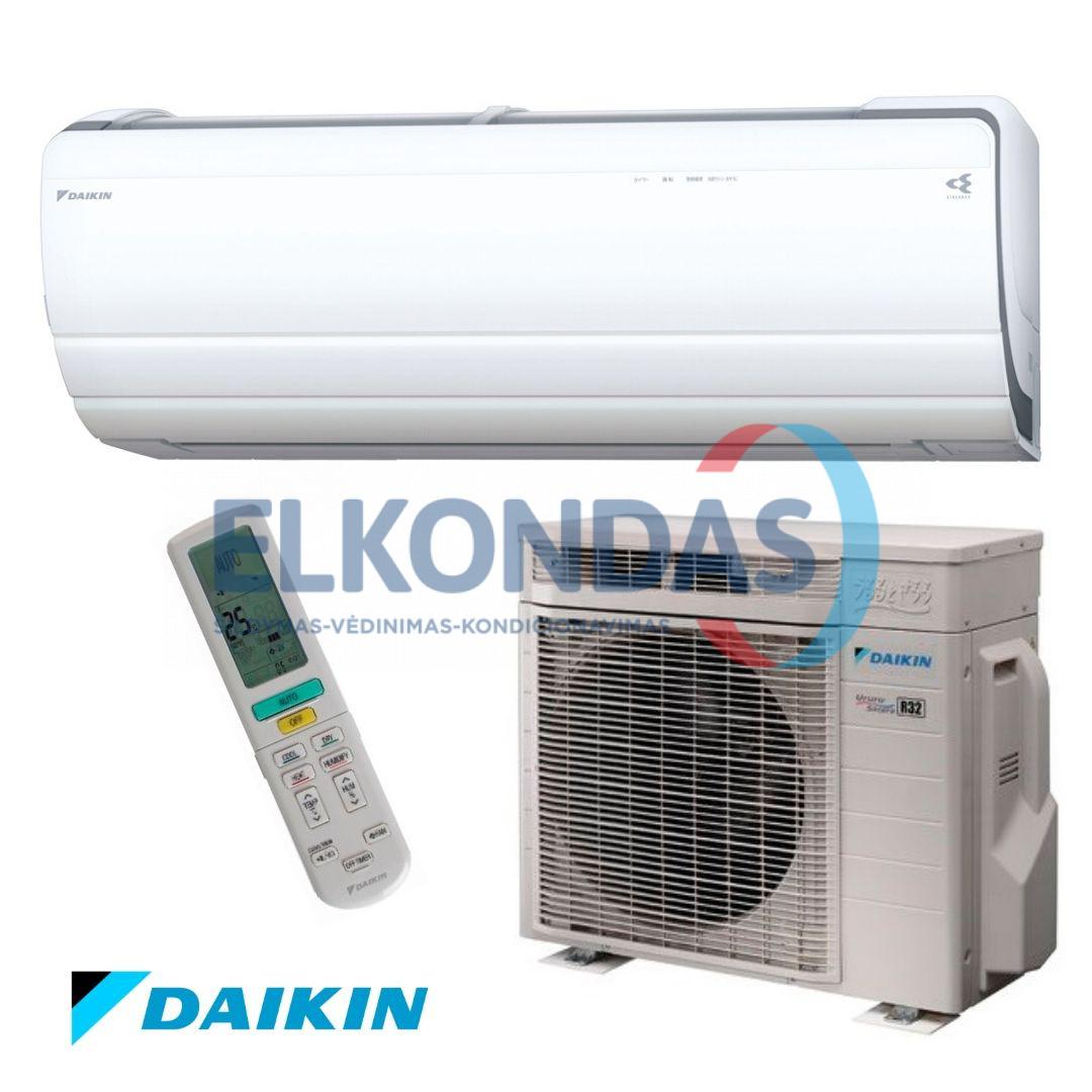 Daikin Split Inverter Ururu Sarara oro kondicionierius/ šilumos siurblys (oras-oras) FTXZ25N/RXZ25N (-20°C)