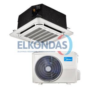 MIDEA COMPACT Inverter kasetinis oro kondicionierius MCA3U-18FNXD0/MOUU-18FN8-QD0 (-15°C)