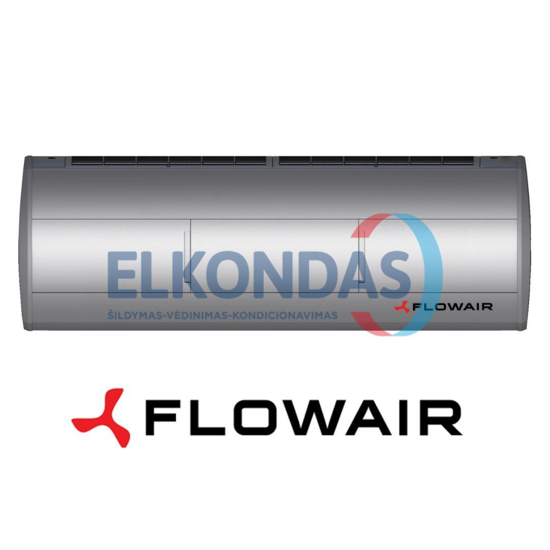 Modernios išvaizdos elektrinė oro užuolaida – ELiS A-E-100 | Flowair