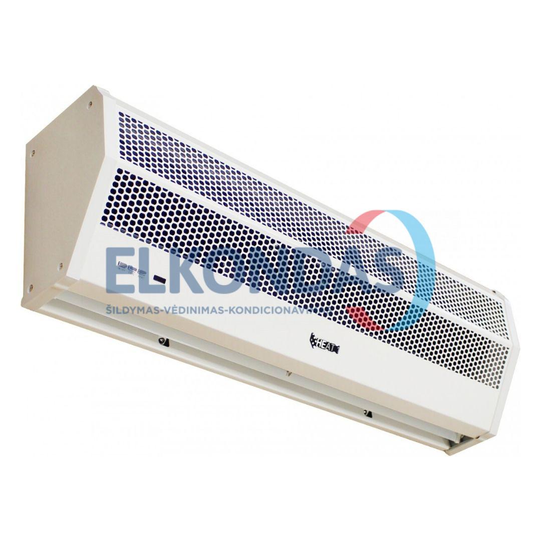 Reguliuojamos galios elektrinė oro užuolaida – HEAT1-E-90-3PH | HEAT1