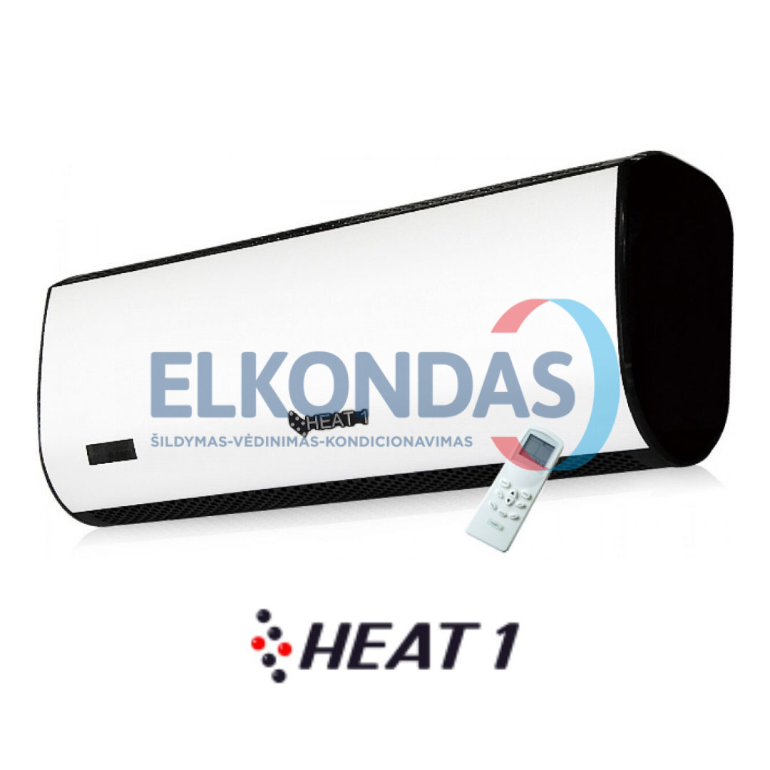 Viršdurinis šildytuvas – ekonominės klasės oro užuolaida – HEAT1 MINI 600 | HEAT1