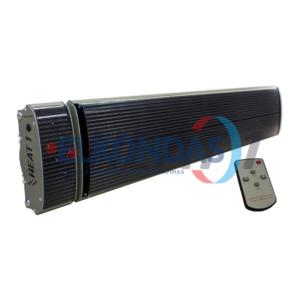Neskleidžiantis šviesos reguliuojamos galios elektrinis infraraudonųjų spindulių šildytuvas – Prestige H1-32B | HEAT1