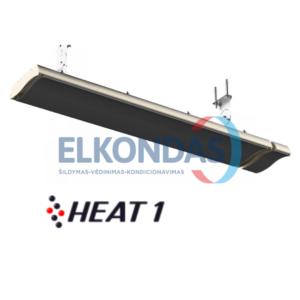 Neskleidžiantis šviesos reguliuojamos galios elektrinis infraraudonųjų spindulių šildytuvas – Prestige H2-24B | HEAT1