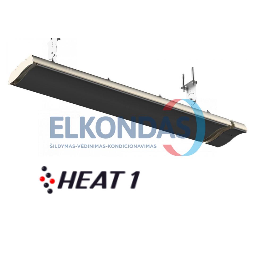 Neskleidžiantis šviesos reguliuojamos galios elektrinis infraraudonųjų spindulių šildytuvas – Prestige H2-18B | HEAT1