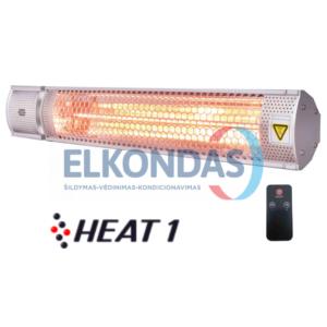 Kompaktiškas infraraudonųjų spindulių šildytuvas – HEAT1 POLAR RC | HEAT1